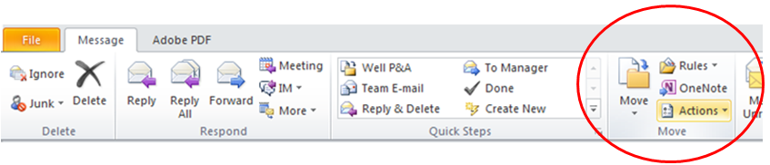 Edit Outlook Email Message1
